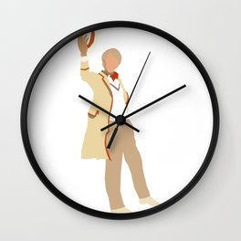 Fifth Doctor: Peter Davison Wall Clock