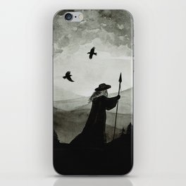 Odin, Huginn and Muninn. iPhone Skin