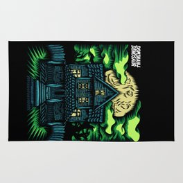 Haunted House Rug