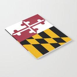 Maryland Flag Notebook