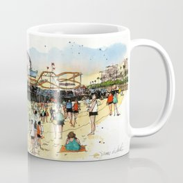 Santa Monica Seaside Coffee Mug