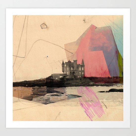 Castle's In The Air Art Print