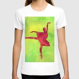 AP121 Watercolor dancer T-shirt