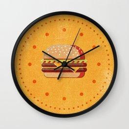 FAST FOOD / Burger Wall Clock