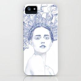Blue Summer iPhone Case