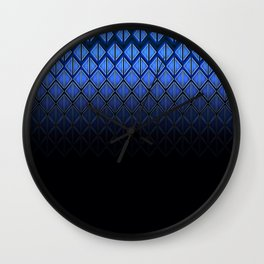 Future Scales blue Wall Clock
