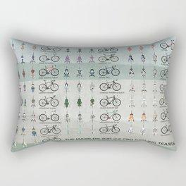 Pro Cycling Teams Rectangular Pillow