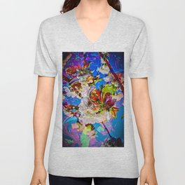 Abstract Perfection 14  Spring Unisex V-Neck