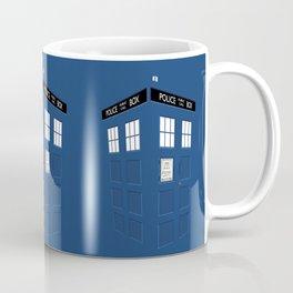 Tardis Blue Coffee Mug