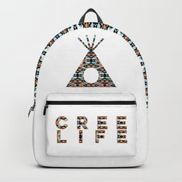 Cree Life - Pattern Tiipii Backpack