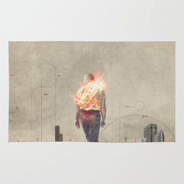 These cities burned my soul Rug