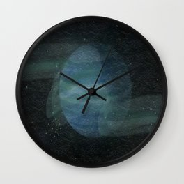 Dancing with Neptune Wall Clock