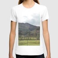 scotland T-shirts featuring Scotland Countryside by Ashley Callan