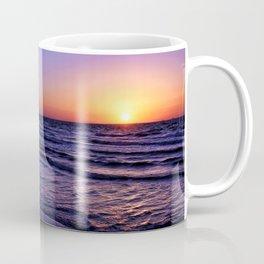 Pleasure Pier Sunrse Coffee Mug