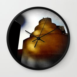 The swirled eclipse Wall Clock
