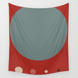 Mid Century Modern Vintage 14 Wall Tapestry