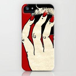 La Moustache Sauvage iPhone Case