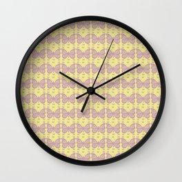 Butterflies sequence Wall Clock