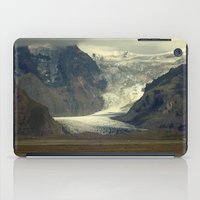 iceland iPad Cases featuring Iceland Glacier  by Factory23