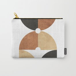 A Game of Quarters 2 - Minimal Geometric Abstract Carry-All Pouch
