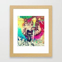 Up From Below Framed Art Print