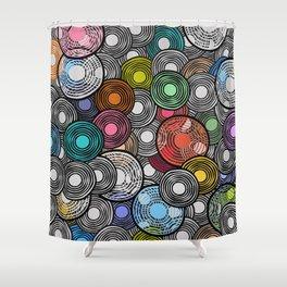 Circles 2 Shower Curtain