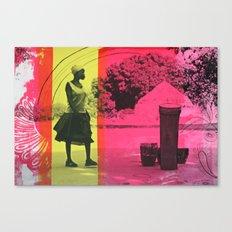 Ma'di Drummer Canvas Print