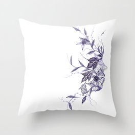 Face of Nature Throw Pillow