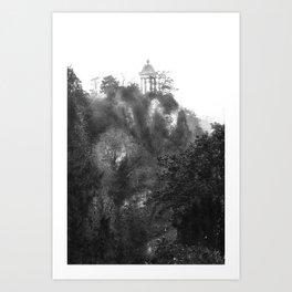 Temple of Sibyl, Paris Art Print