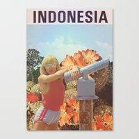 indonesia Canvas Prints featuring Indonesia  by Mariano Peccinetti