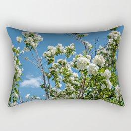 Summer of Flowers Rectangular Pillow