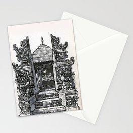 Bali : Market Temple Stationery Cards