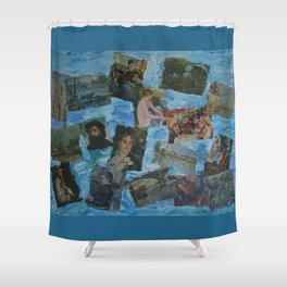 The Impressionists No. 3 COL150215c Shower Curtain