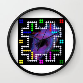 don't panic grande game Wall Clock
