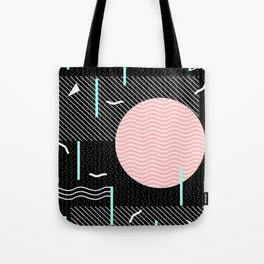 Memphis Summer Night Tote Bag