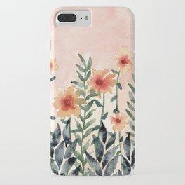 Peachy Fields iPhone Case