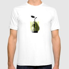 Verd SMALL White Mens Fitted Tee