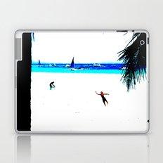 Borocay Beach Dive - Happy Place Laptop & iPad Skin