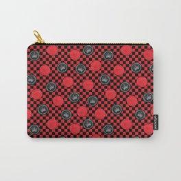 Checker Board Carry-All Pouch