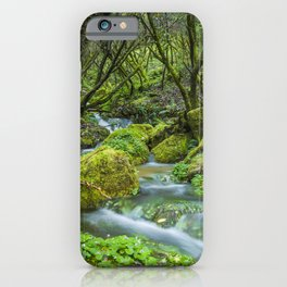 Deep in the green forest II iPhone Case