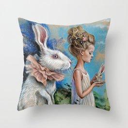 Chasing dream Throw Pillow