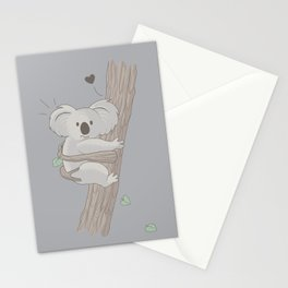 I Love You Too Stationery Cards
