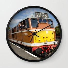 Diesel loco 5830 Wall Clock