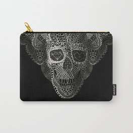 Lace Skull Carry-All Pouch