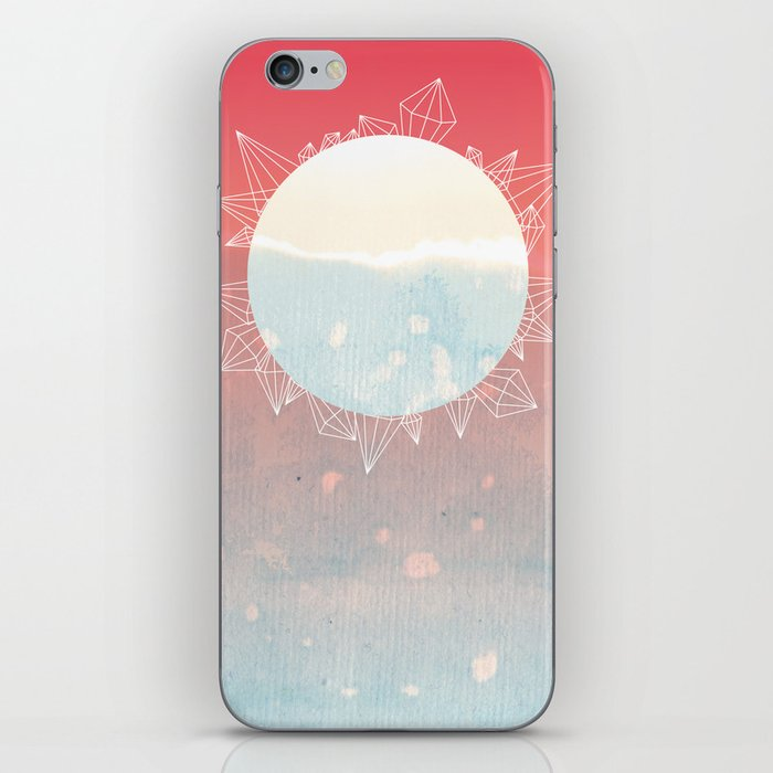 Crystal Sunrise iPhone Skin
