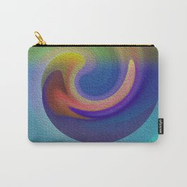 Ocean Wave Number Three Carry-All Pouch