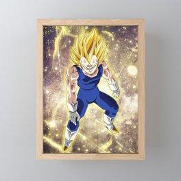 Majin Vegeta Framed Mini Art Print