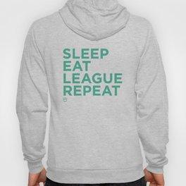 Eat League Sleep Repeat Hoody