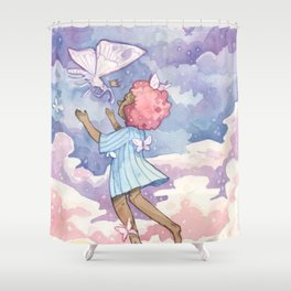 the recurring dream Shower Curtain