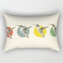 The Hummingbird Dance Rectangular Pillow